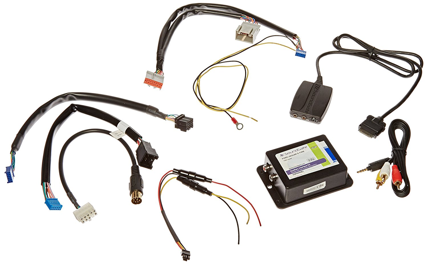 USA SPEC RCA Port for 99-05 FORD//LINCOLN iPod to Factory Radio Wired Music Interface with AUX PA11-FORD1