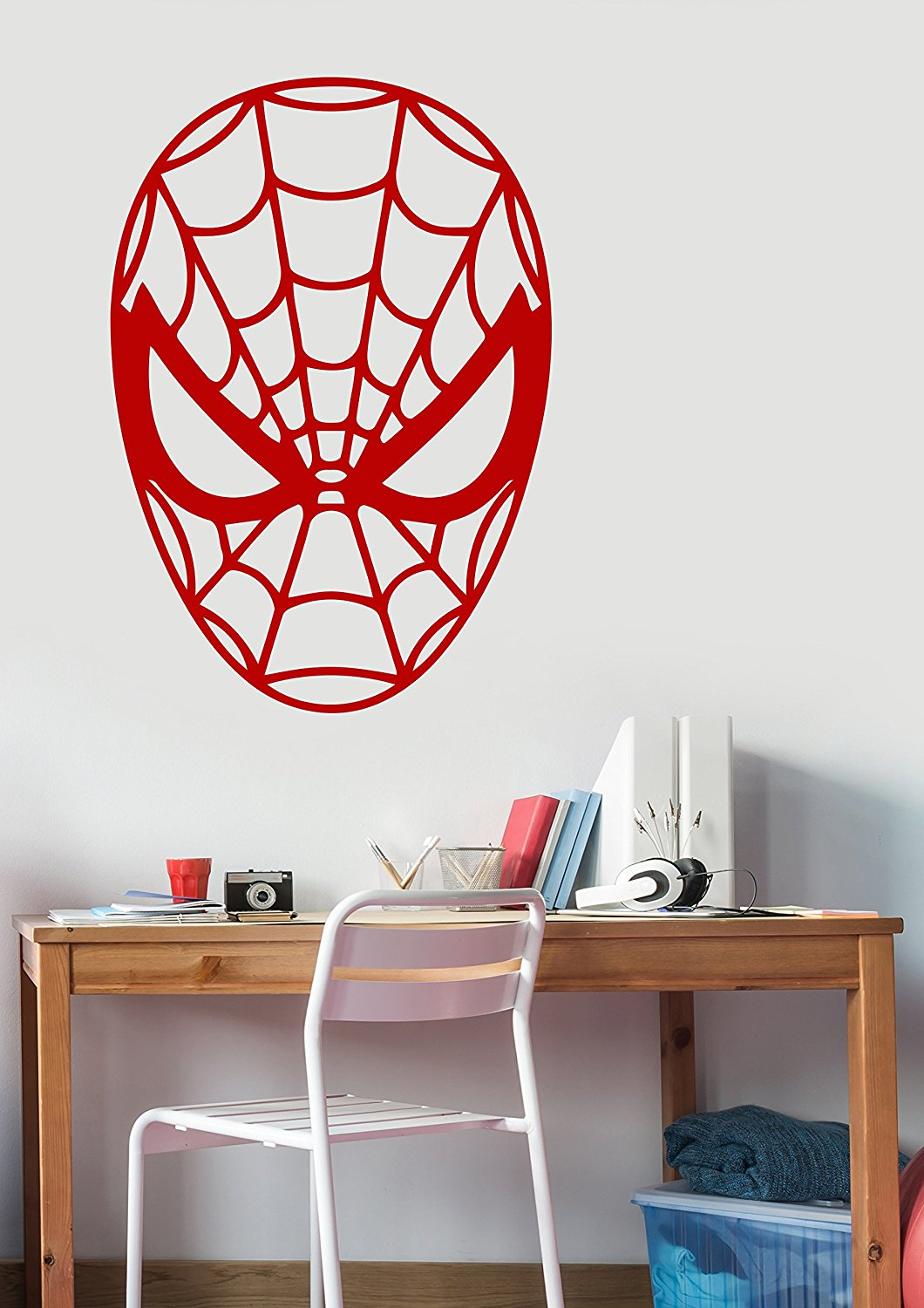 Get Quotations · Spiderman Decal Removable Vinyl Sticker Marvel Superhero  Wall Art Decorations For Home Kids Boys Room Bedroom