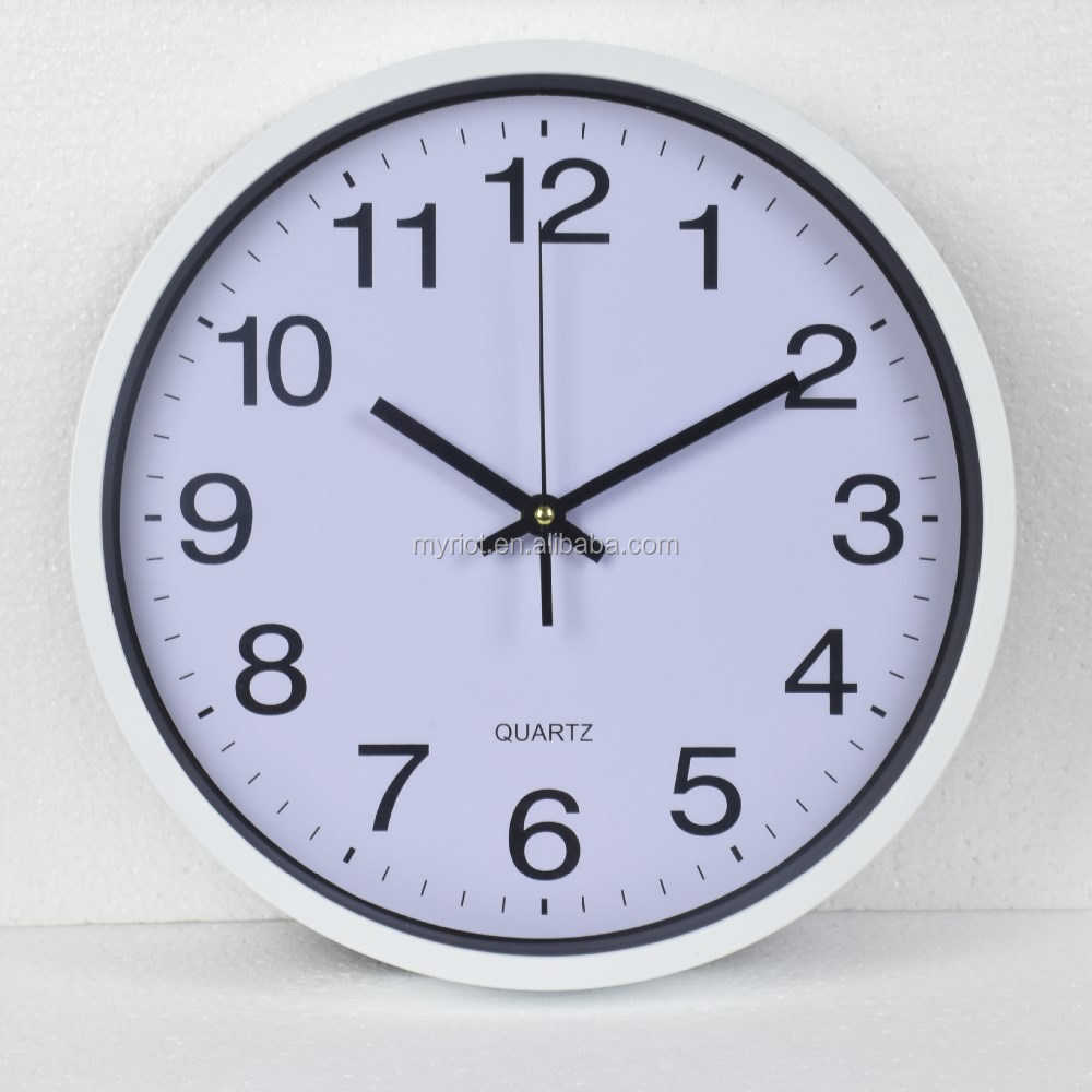 Plastic Round Wall Clock,Cheap Wall Clock,Antique Wall ...
