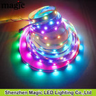 Dc5v 30 LEDS / M WS2812 magia RGB 30 pixel digital LED Strip