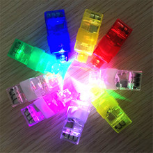 Factory direct selling LED flash ring luminous finger lamp