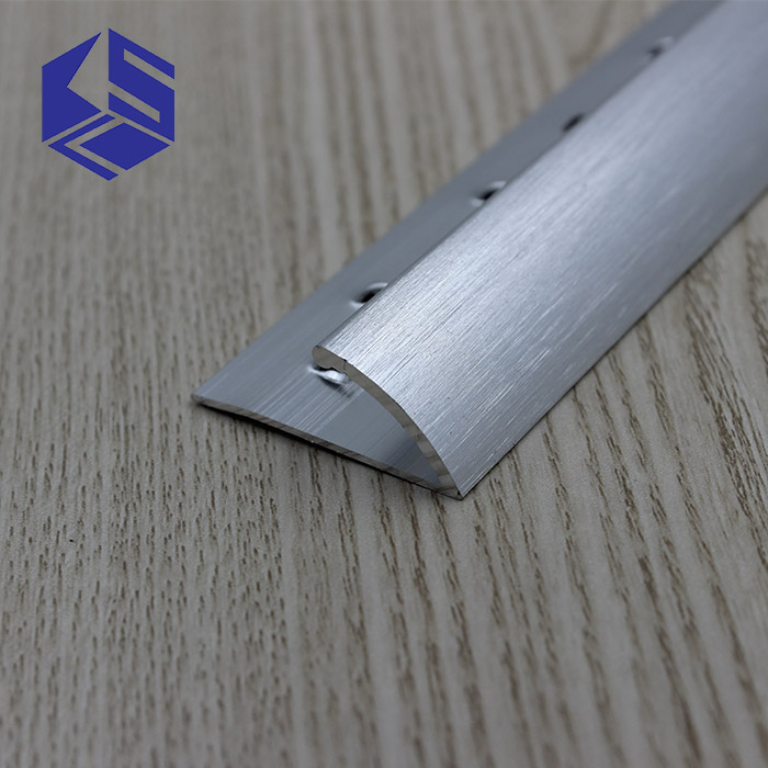 Hot sale carpet transition silver bullnose carpet edging trim