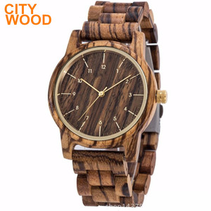 Smart men's gift wood watch