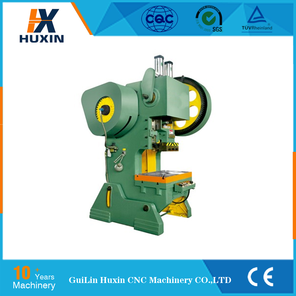 10ton mechanical power press machine rates , steel hole punching machine , hole puncher