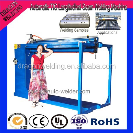 ZF-2500MM Solar Water Heater Automatic TIG Straight Seam Welding Machine