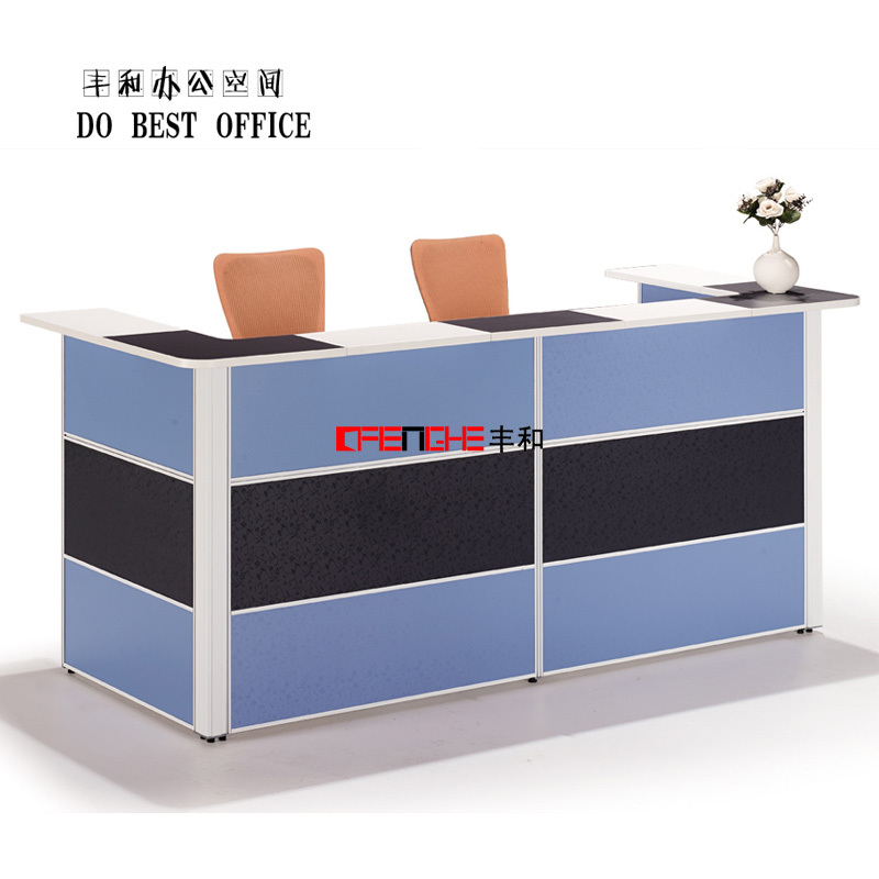 office counter designs. modern design wood office desk 2 person reception counter designs