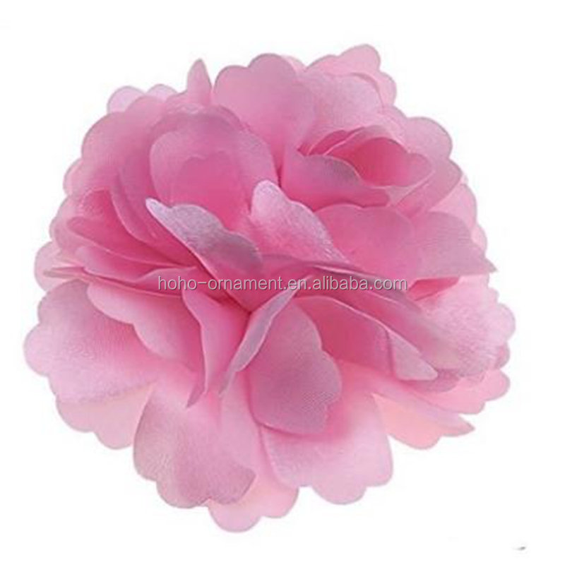 Fashion lovely newest pink rose handmade Flower fascinators Brooches