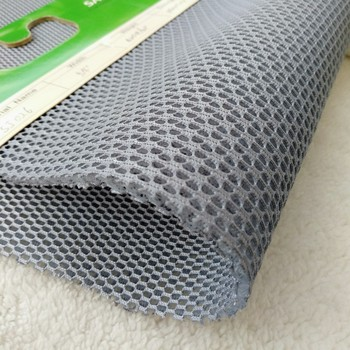 100% polyester 3D spacer mesh fabric for sport shoes and backpack
