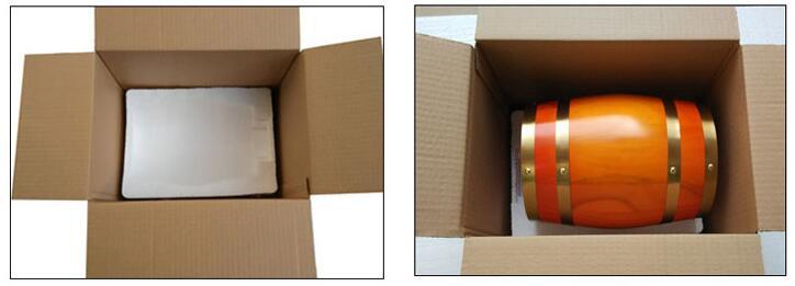 100 millimetri naturale solido palla di legno