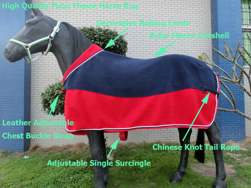 Polar Fleece Horse Rug With Collar Show Product On Alibaba Com
