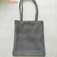 Easy carry mesh 고급스러운 패션 reusable tote shopping bag