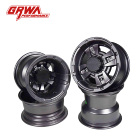 Grwa High Quality 15-18'' Universal Black Aluminum Alloy Wheel Rims
