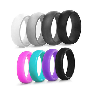 Fashion Design Silicone Wedding Finger Ring And Band