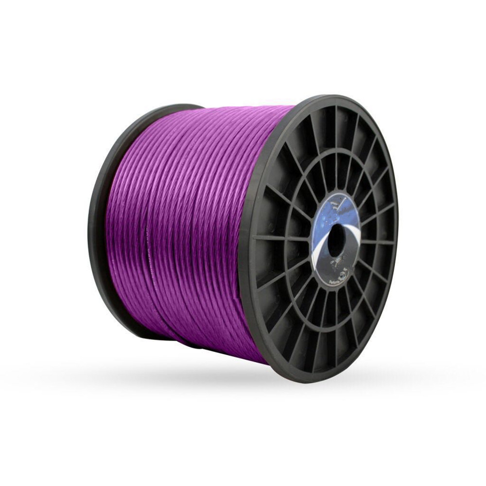 8AWG Power cable wire 150ft Purple CCA MADE IN CHINA
