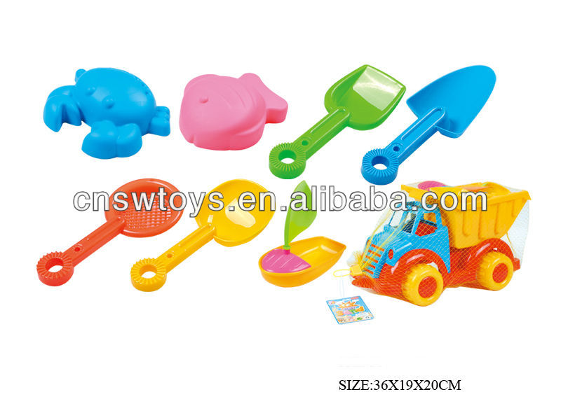 plastic sand filled toys for children summer prodcts 2013