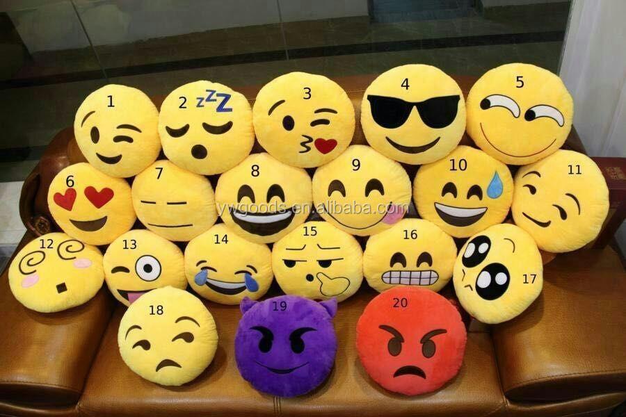 verschiedene Arten von Emojis