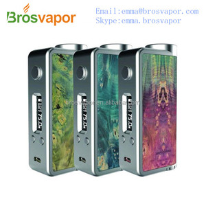 2016 New product Kanger K1 Box Stabilized Wood Mod Evolv DNA75 Chip from brosvapor