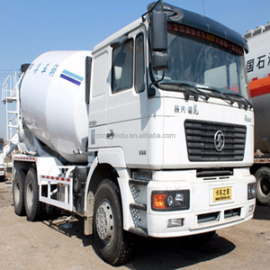 6x4 SHACMAN new 10 m3 cement mixer truck sale in Algeria