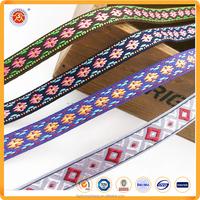Popular Design Single Face Polyester Jacquard Ribbon Manufacturer