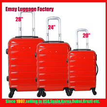 2017 Hottest president abs travel luggage Customized abs pc luggage