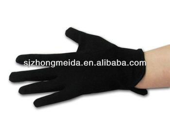 Black Cotton Parade Gloves Church Gloves Band Gloves Buy Black