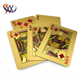 High Quality Gambling Card Gold Foil Play Card
