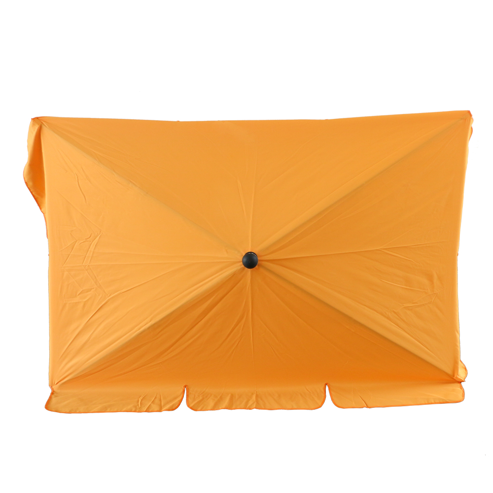 7FT Rectangular Umbrella With Tilt Adjustment , Perfect For Outdoors, Garden Patio, Or Any Occasions