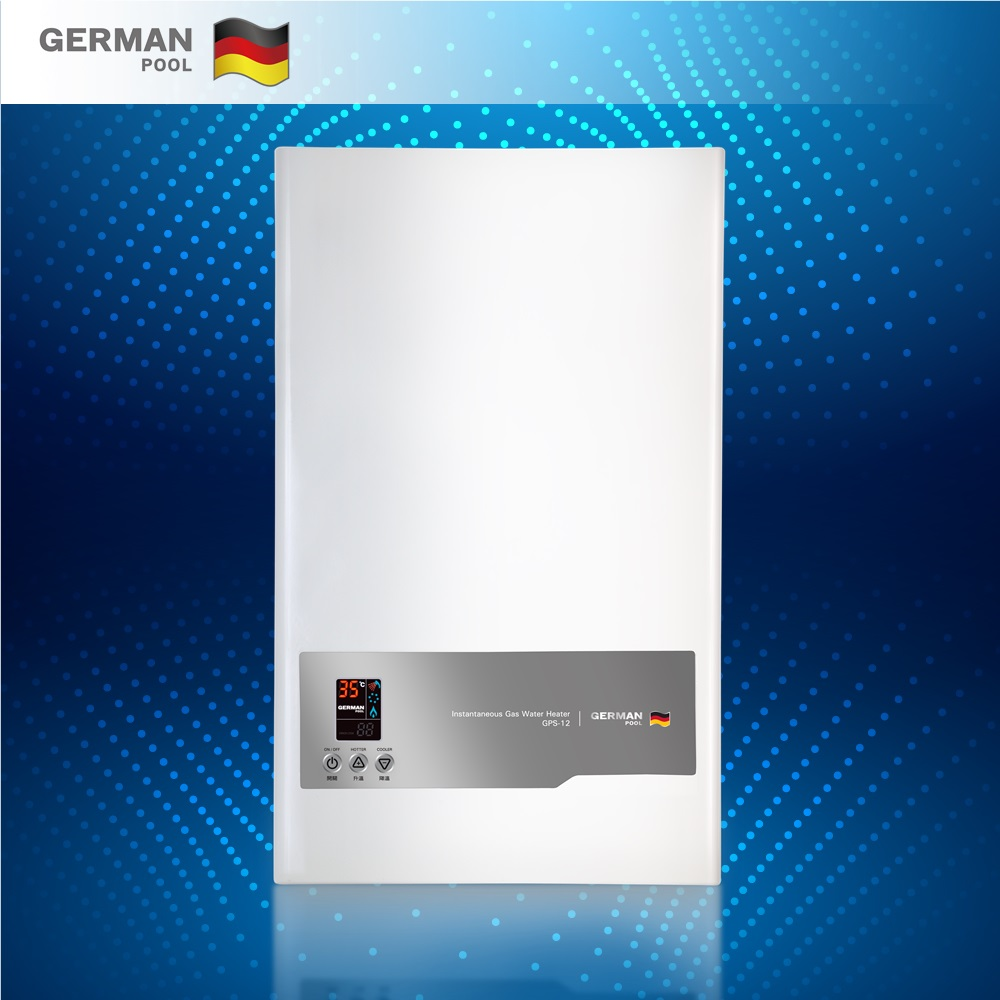 German Pool Custom Design Pollution free 2KW anti-back syphon device modular with faucet Electric vertical water Heater