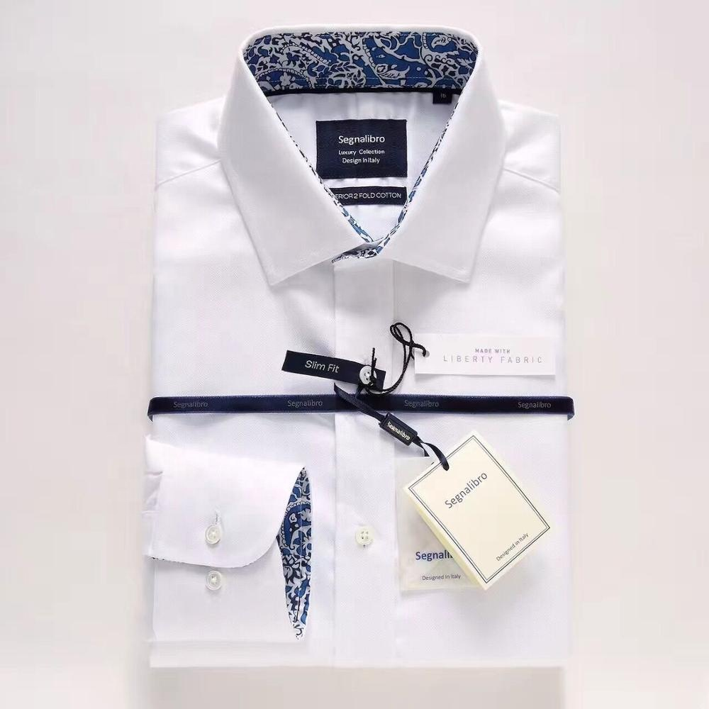 Good Quality Custom Mens Suits Long Sleeve White Wholesale men <strong>shirt</strong>