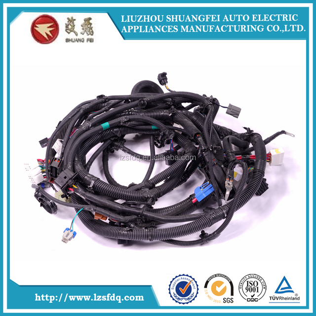 custom automotive audio wire harness manufacturer for car gps
