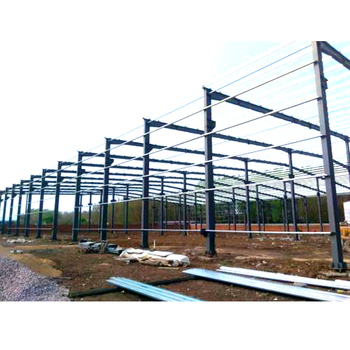 pre fabricated low cost industrial steel shed designs