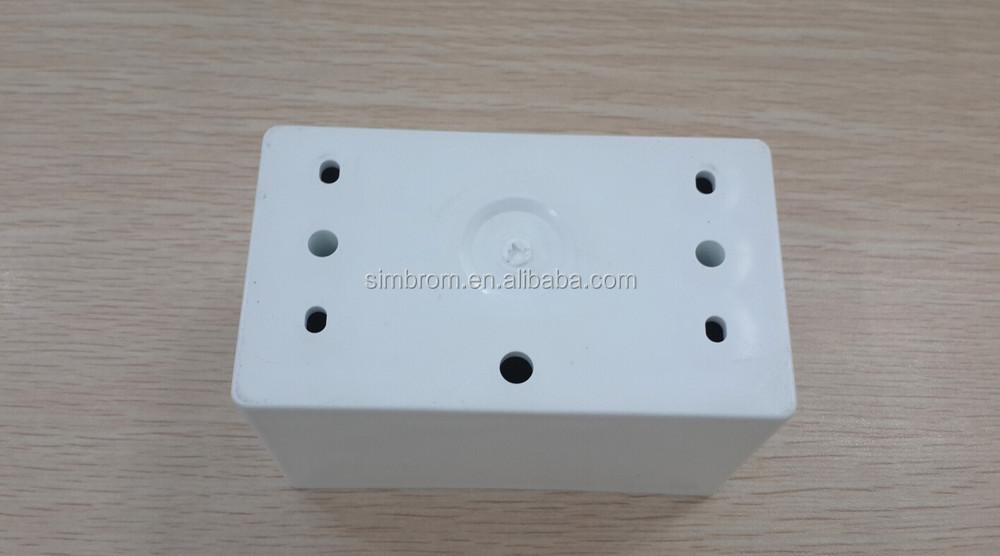 Pvc Electrical Wall Switch Bottom Flush Box 113*65*47mm White Or ...