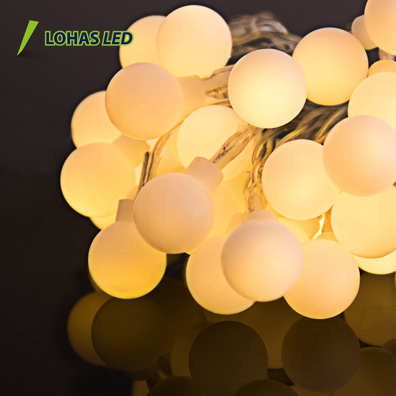 USA LED String Light globe bulb decoration 16ft/5m waterproof Led String Light Strips holiday lighting