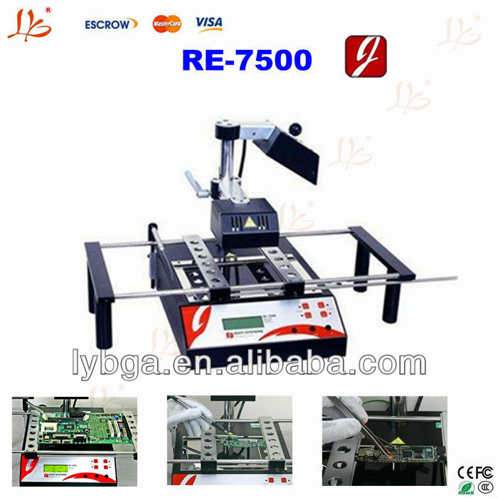 Latest version Jovy RE7500/RE-7500 infrared BGA rework station,for motherboards repairing,upgrade version for RE8500