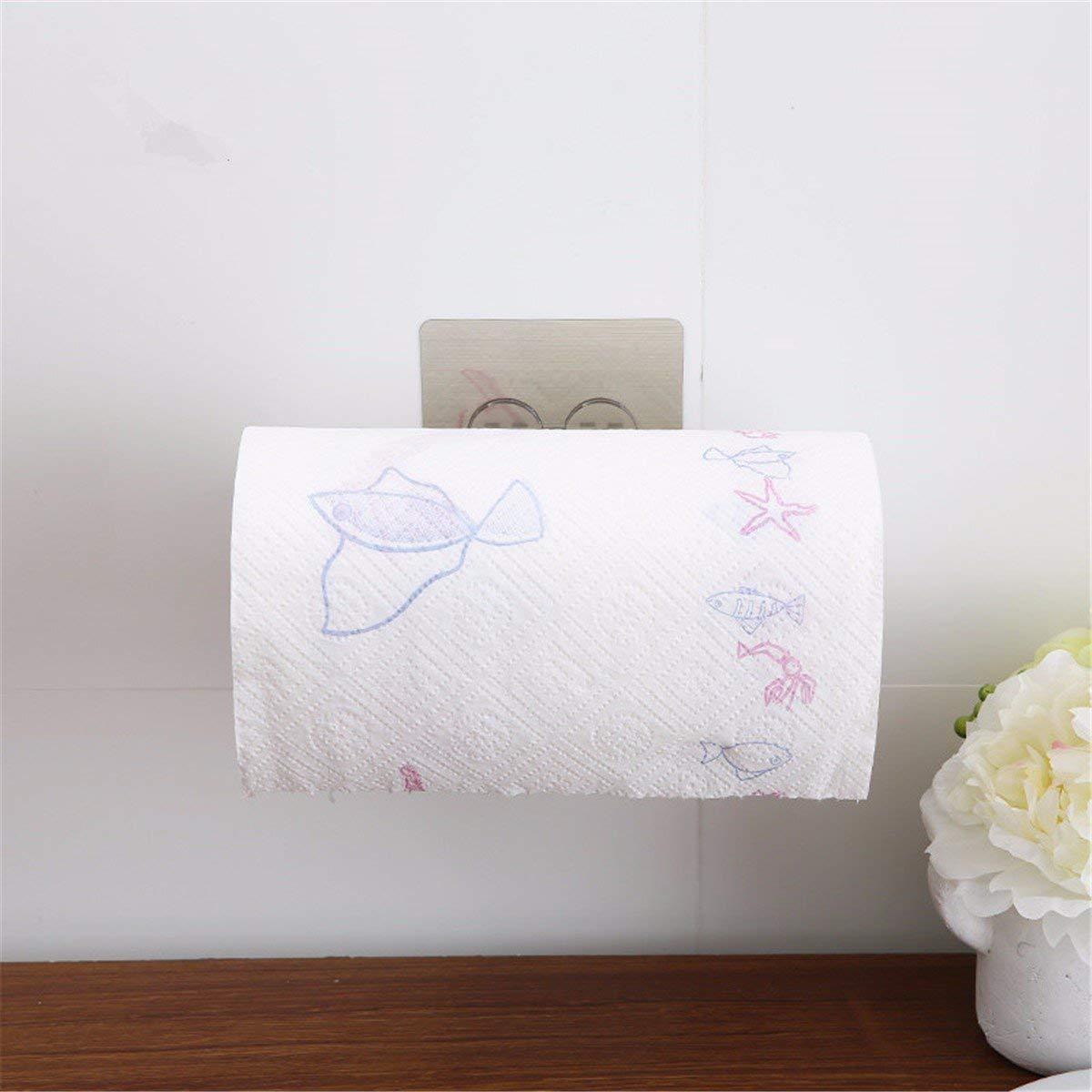 ZHAS Paper towel rack drawer paper towel rackRack kitchen towel rack bathroom towel rack Toilet Paper Holders