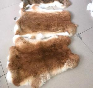 Factory Wholesale Natural tanned Rabbit Skins and all colors rabbit skins