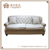 English Style Classic Fabric Tufted Down Filled Sofa