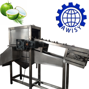 2018 Newest industrial tender coconut half cutting machine/cutting machine coconut shell
