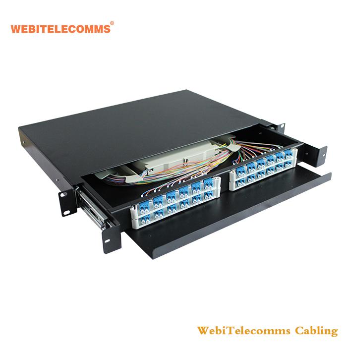 Fiber Optic Adapter Panel 6 SC Duplex 24 Ports – 4018 10 Gig Multimode
