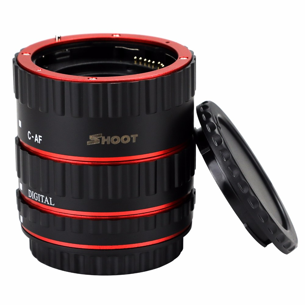 Factory Price Hot Accessories Manufacture Shenzhen China Macro Extension Tube Lens for Canon Photographic
