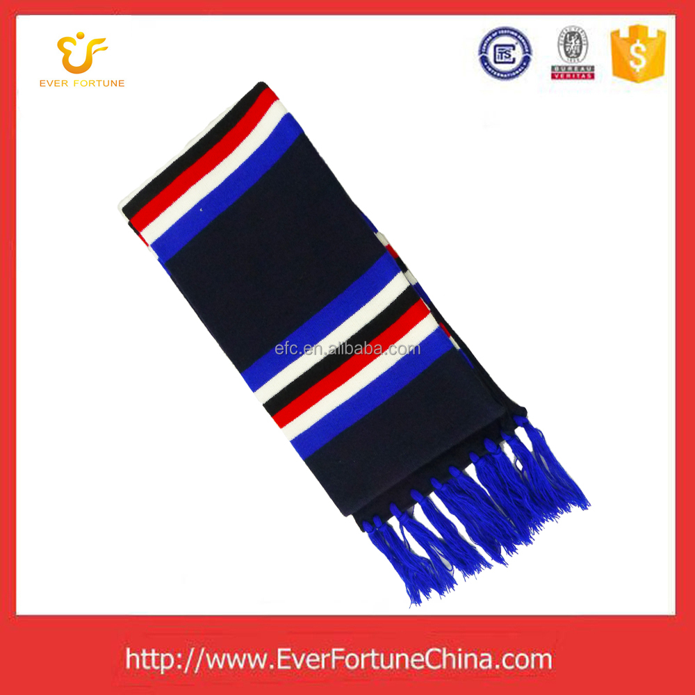 EuroCup fashional knit football fan scarf