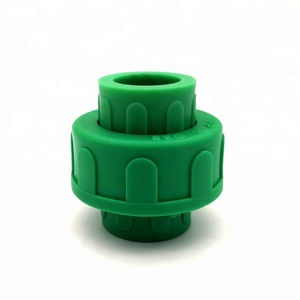 DIN standard plastic PPR pipe fitting union