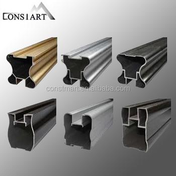 Di Alluminio Della Parete Divisoria Dettaglio Dwg Taglio Termico In