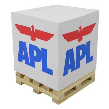 Fantastique Que Faire Avec Cube De Palette palette en bois mémo cube bloc de papier avec logo personnalisé