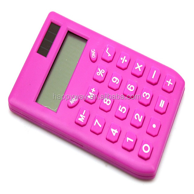 advertising cute calculator 0702022 moq 100pcs one year quality