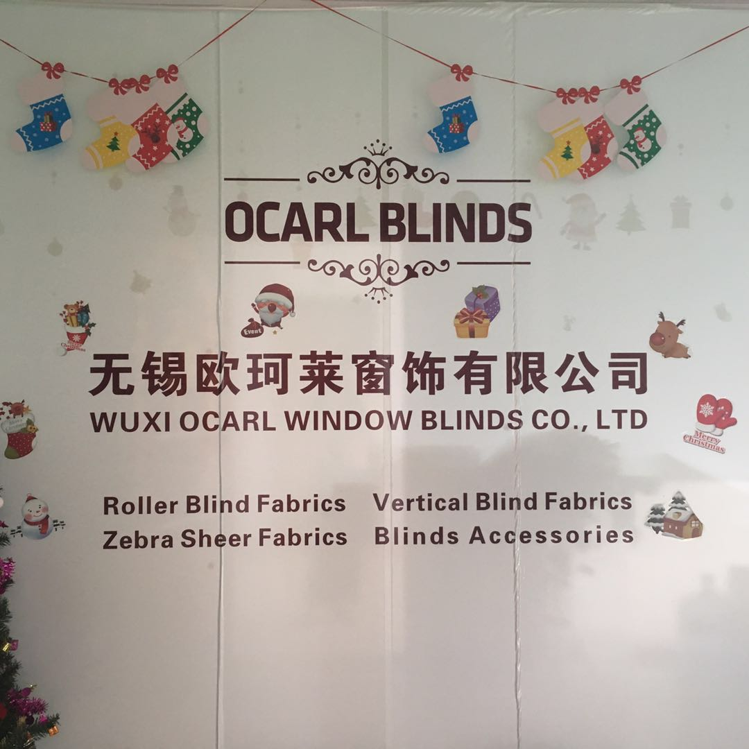 Blackout plain fabric roller blinds