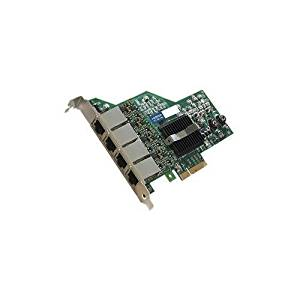 AddOn IBM 90Y9352-AOK / 90Y9352 Comparable 10/100/1000Mbs Quad Open RJ-45 Port 100m PCIe x4 Network Interface Card (AddOn90Y9352-AOK )