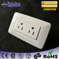 US Standard Electrical In Wall Sockets And Switch 1 Gang Switch Socket