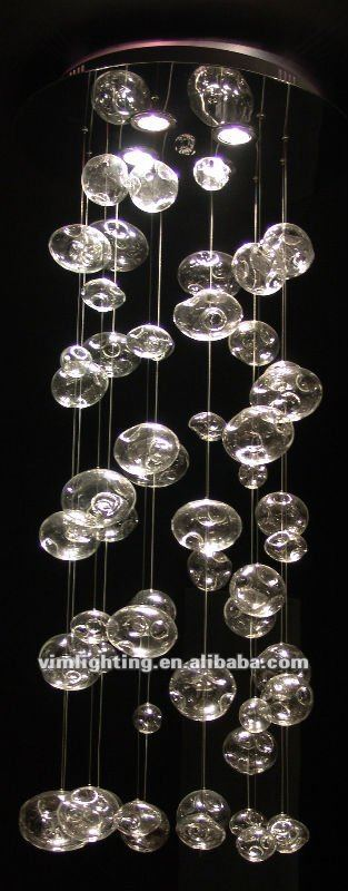 bubble chandelier glass bubble chandelier lighting home design ideas 53 modern chandelier. Black Bedroom Furniture Sets. Home Design Ideas