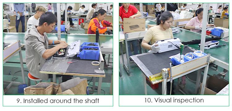 10 ans Usine Approvisionnement Échantillon Gratuit Haute Qualité Automatique Emballeur de Vide de Nourriture
